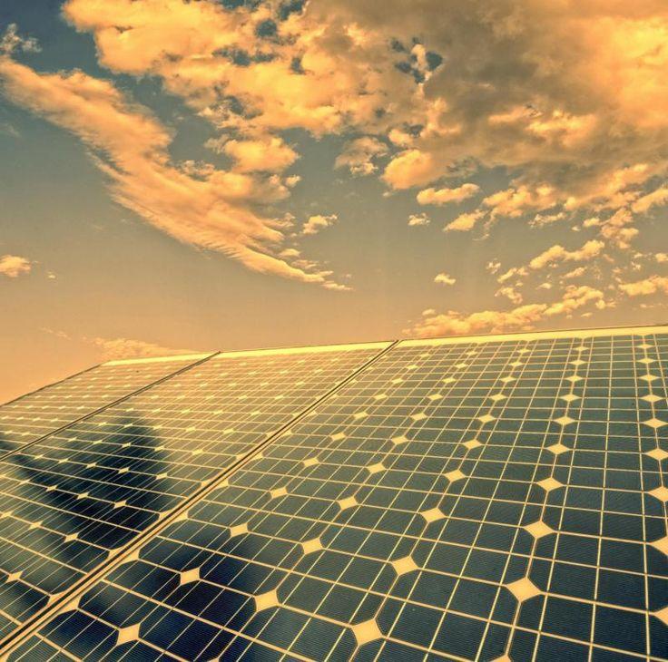 Semi-transparent perovskite solar cells for solar windows