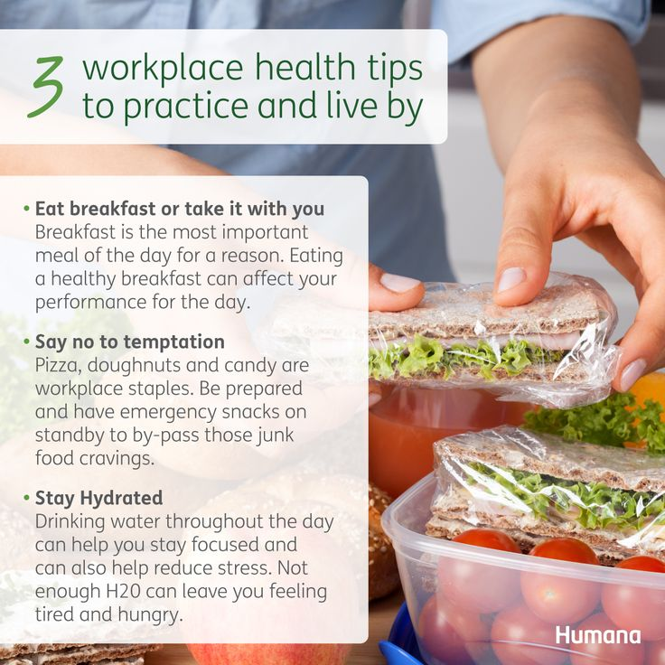 3 Workplace Health tips to practice and live by #work # ...