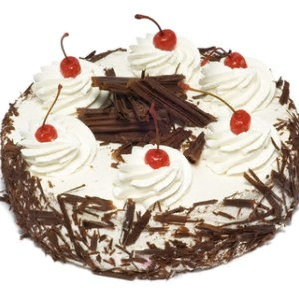 Chocolate cake is sliced into three equal layers, moistened with aromatic kirsh solution and filled with delicious strawberry cream filling.Note:We can Deliver only this area Moscow,St.Petersburg,Samara,Kazan,Ekaterinburg,Novosibirsk,Rostov-on-Don,Vladivostok,Nizhny Novgorod.