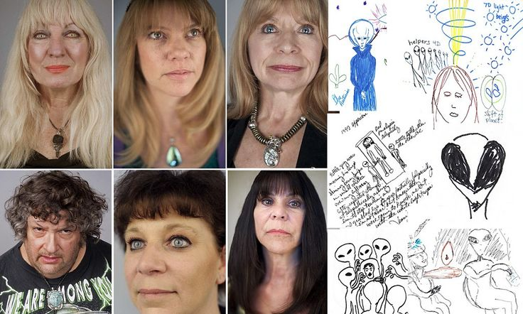 Our close encounters: Meet the alien abductees - and the pictures they drew to prove they weren't imagining it all...