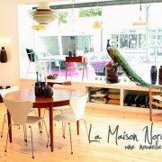 La Maison Nordik a décidé de voir plus grand pour ces meubles vintages venus du Danemark, découvrez les photos de leur nouveau showroom situé désormais au 159 de la rue Marcadet à Paris