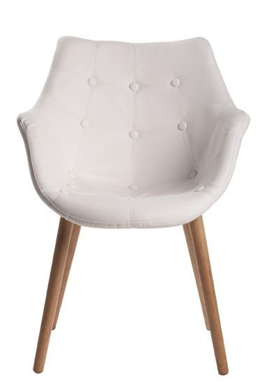 Eetkamerstoel Ocean wit, bekijk deze moderne design Eetkamerstoel Ocean wit. - Meubelen Online heeft een grote collectie betaalbare design meubelen.