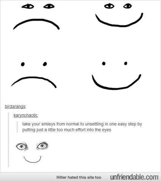 An Unsettling Smiley Face