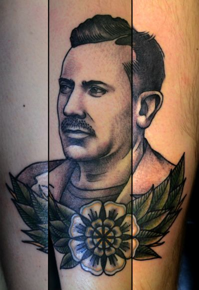 17 best images about literature author portraits on for Marc anthony neck tattoo
