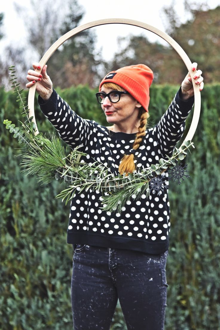 DIY Weihnachtsidee Zur Adventszeit   Mein Minimalistischer Türkranz... Oder  Aus Den Leben Eines