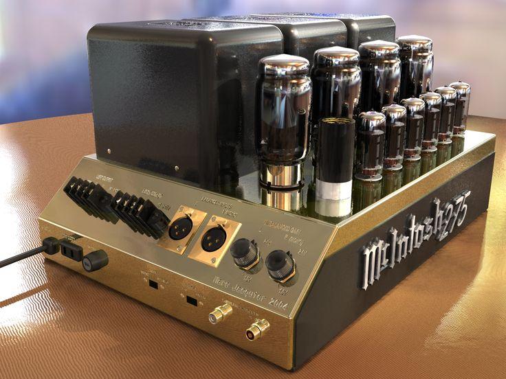 McIntosh 275 - My dream tube amp.