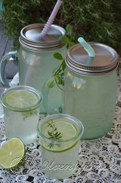 Кулінарні варіації вар'ятки: Лимонад з розмарином