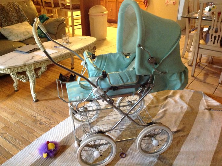 Frankie's pram 22 1/2 years old