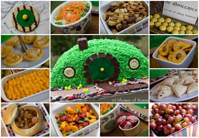A Hobbit Birthday Party! great food ideas: