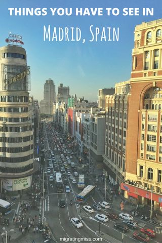 Visiting Madrid in Autumn & Falling in Love With Travel Again #travel #madrid #spain #autumn #fall