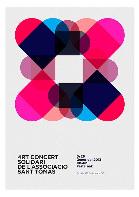 Solidary Concert Poster by MARIN DSGN, via Flickr