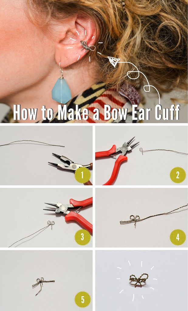 Bow Ear Cuffs