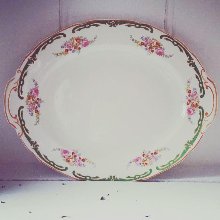 Vintage serving plate.