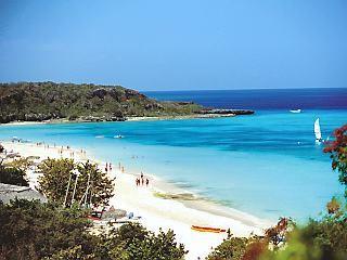 Guardalavaca Beach, Holguin, Cuba I was swimming in this water. I love Cuba. - Cuba Weekly