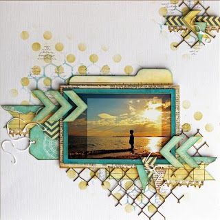 #papercraft #scrapbook #layout. Beck BT: An extremely busy month with lots to share