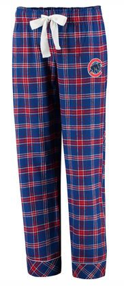 WOMEN'S CHICAGO CUBS CONCEPTS SPORT ROYAL/RED CAPTIVATE PLAID FLANNEL SLEEP PANTS #ChicagoCubs #Cubs #CubsFans #GoCubs #Chicago