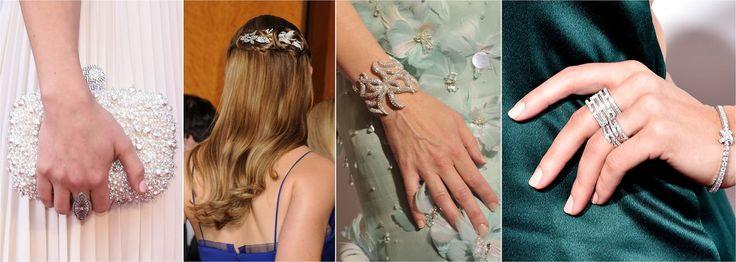 Oscary 2016. Biżuteria, torebki gwiazd na gali Oscarów 2016