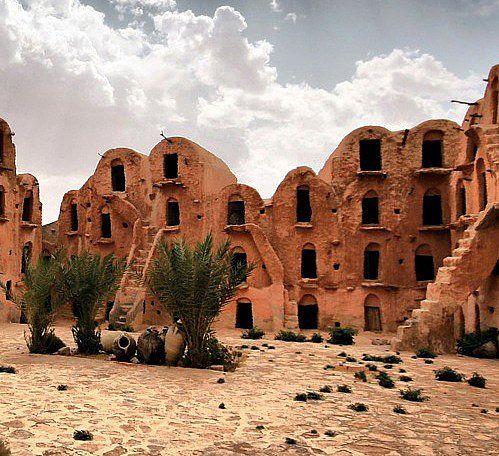 Tatouine region in Tunisia. Parts of Star Wars were filmed here! -  Best North Africa Sights