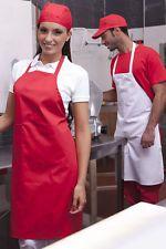 PAGAMENTO ANCHE ALLA CONSEGNA Grembiule Cucina Uomo Donna Cuoco Chef Alimentare Abbigliamento Abiti