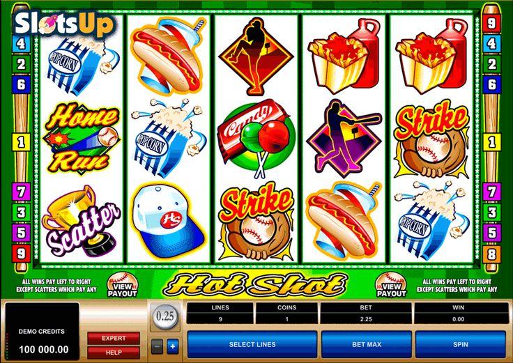 Hot shot slot by microgaming play free at slotsup