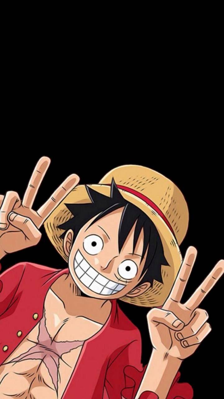 One Piece Luffy Di 2020 Galaxy Wallpaper Seni Anime Ilustrasi Karakter