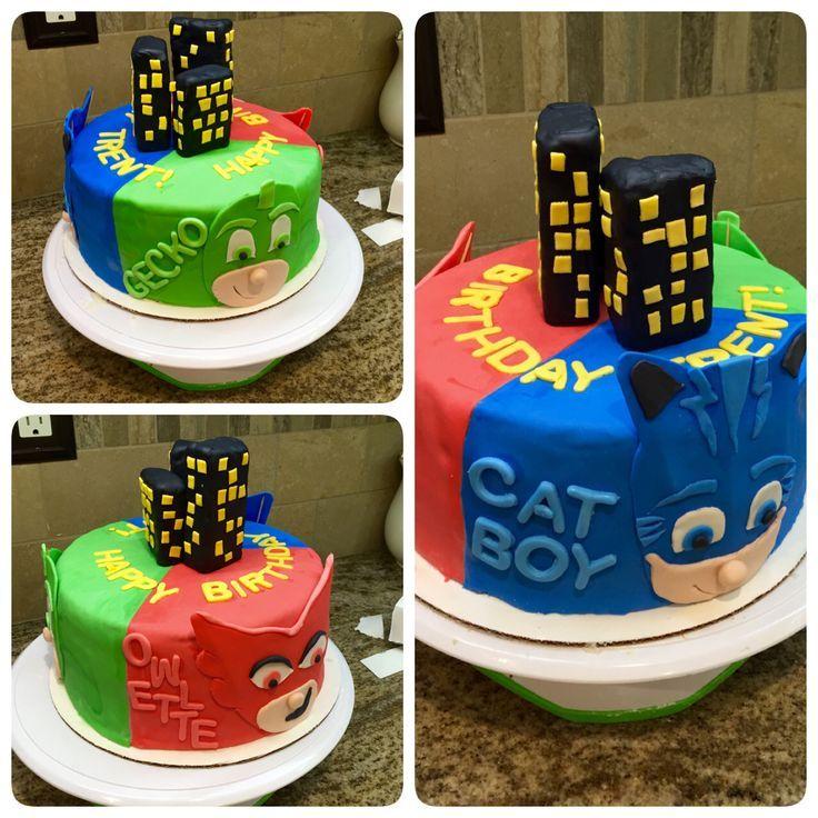 PJ masks cake!