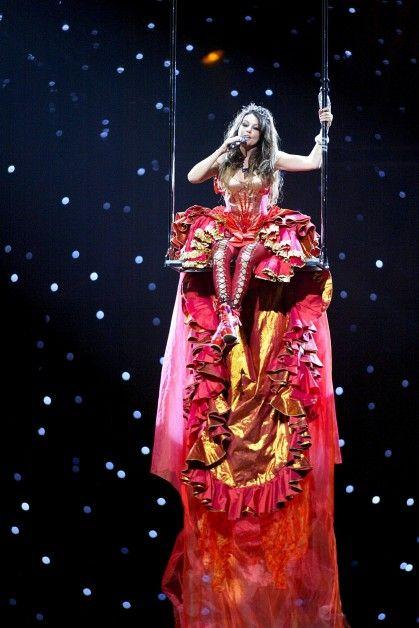 Sarah Brightman Harem concert Live in las Vegas. What a Wonderful world