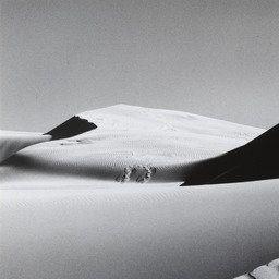 Ansel Adams. Dunes, Oceano, California. 1963   MoMA: More