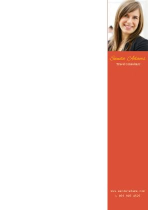 how to type on a pdf letterhead