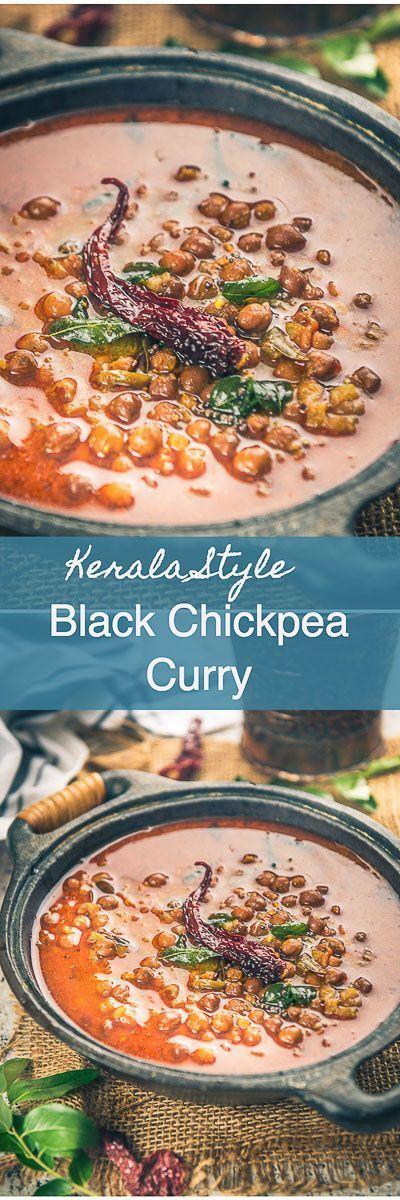 Step By Step Kerala Style Kadala Curry Recipe. It is a quintessential dish in every Malayalee household. It's a very popular dish with Puttu. Indian I Curry I recipe I Kerala I Chickpea I vegan I gluten Fee I vegetarian I Traditional I Authentic I via @WhiskAffair