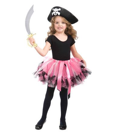 Take a look at this Pink Pirate Dress-Up Set - Girls by Forum Novelties on #zulily today!
