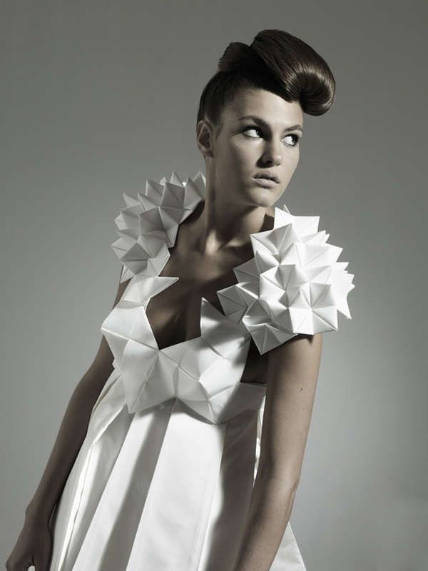 25 Best Ideas About Origami Dress On Pinterest How To Make A Hankerchief Origami Fashion And