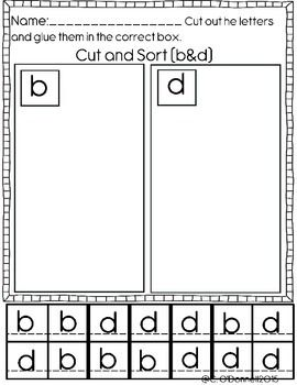 dyslexia worksheets help with b d p and q reversals b d pinterest worksheets ps and d. Black Bedroom Furniture Sets. Home Design Ideas