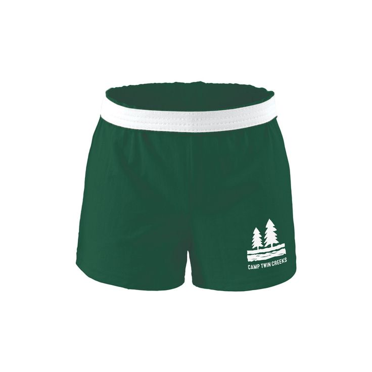 Girls Green Soffee Shorts