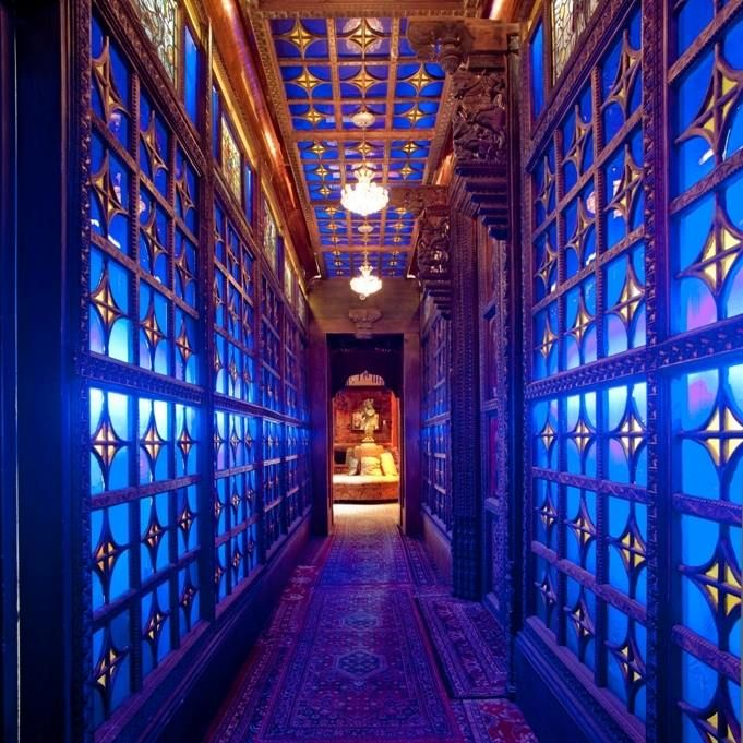"""House of blues New Orleans """"Crystal Room"""" is a relaxing place to spend some time. #relax #foundationroom"""