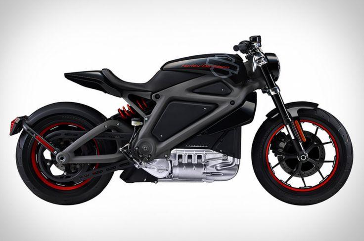 Harley Davidson Livewire la première moto électrique de la marque