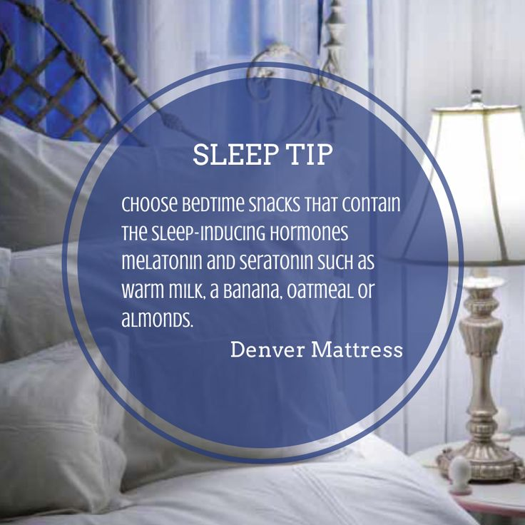 canu0027t sleep try snacking smarter before bedtime click the image for more - Denver Mattress