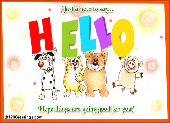 greeting cards for facebook friends | Big Hello... Free ...
