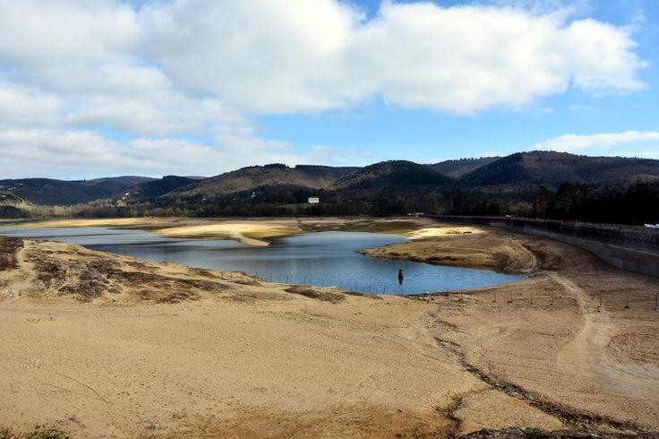 Le lac était à sec depuis septembre