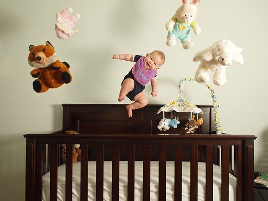 Flying Baby Picture