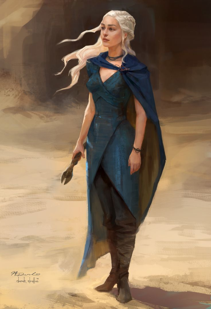 Daenerys (Telltale's Game of Thrones) - Derek Stratton and Molly Denmark