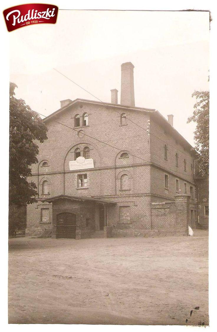 1934r. - Biurowiec Majątku Pudliszki - Urząd Dworski #pudliszki #historia