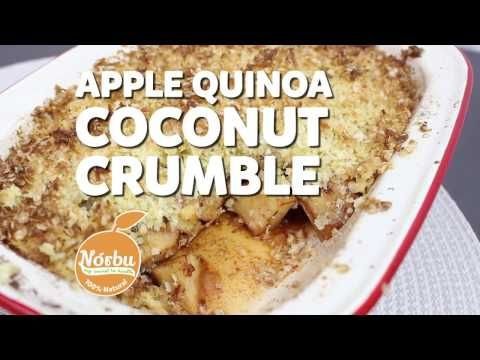 Apple, Quinoa and Coconut Crumble - Sweeter Life Club