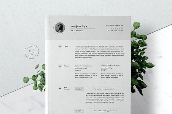 Resume and Cover Letter - 5 Pages by Leo Resume on @creativemarket - resume 5 pages