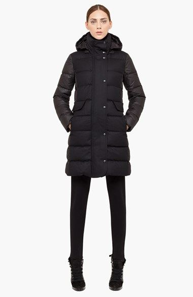 Free shipping and returns on Akris punto Quilted Down Coat at Nordstrom.com. Combat cold weather in sumptuous style in an impeccably crafted down coat from Akris punto. A removable hood, face-framing stand collar and dual zip-and-snap placket shield from the wind, while the tightly woven sleeves and back allow the rain to roll right off.