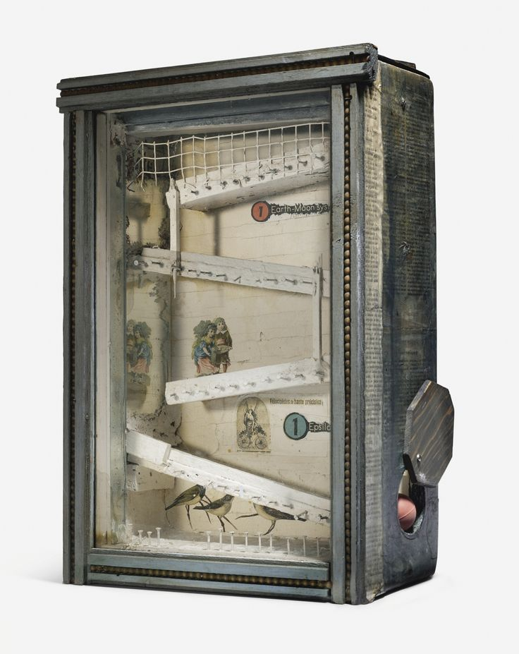 Joseph Cornell - UNTITLED (GAME BOX), Circa 1954,...