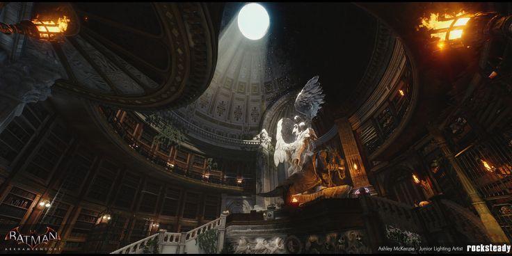 ArtStation - Batman: Arkham Knight - A Flip of a Coin DLC Lighting, Ashley McKenzie
