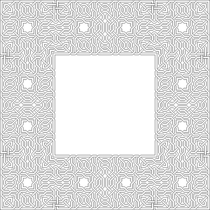 coloring pages islamic patterns images - photo#40