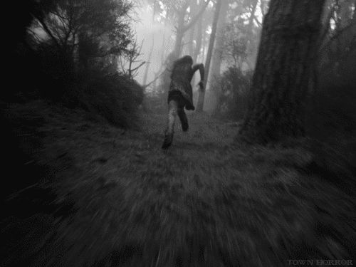 I run through the forest, blood and grime caking my body, my rusted dagger grasped firmly in my hand. I take deep breaths and stumble, my body weak from lack of water and food. I can still hear the hollow voices echoing in my head and I push my lips into a firm line as I near sunlight, breaking out of the forest and into Hogwarts' yard. I fall onto my knees and scream loudly before passing out, the blackness closing around me, my knife still in hand. I hope someone heard my scream. ~Ms Kat…