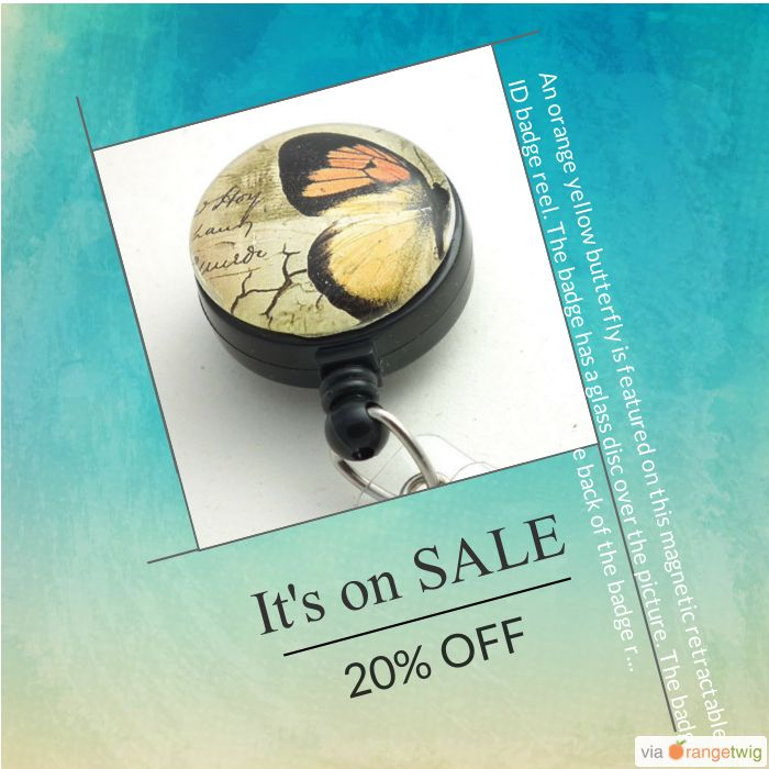 Administrative Professional's Day is April 27. Show the love for everything your administrative professional does for you. Gift her with one of these badge reels. 20% OFF on select products. Hurry, sale ending soon! Check out our discounted products now: http://plumbead.com/products?utm_source=Pinterest&utm_medium=Orangetwig_Marketing&utm_campaign=Administrative_Professional's_Day_Sale